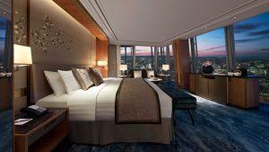 luxury hotel accommodation.